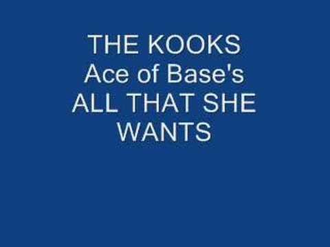Tekst piosenki The Kooks - All that she wants po polsku