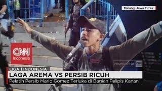 Video Suporter Masuk Lapangan, Laga Arema FC vs Persib Ricuh - Liga 1 Indonesia MP3, 3GP, MP4, WEBM, AVI, FLV September 2018