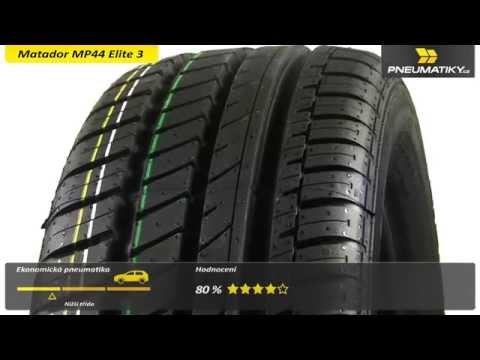 Youtube Matador MP44 Elite 3 185/55 R15 82 V Letní