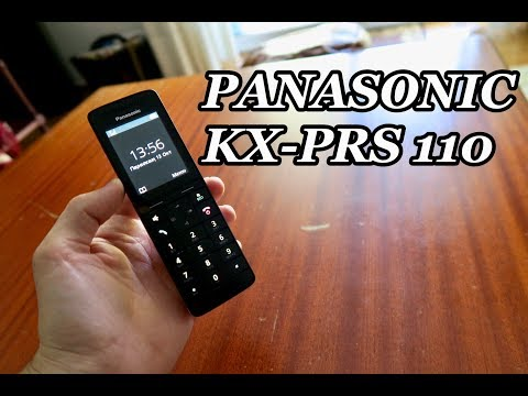 Unboxing & Review: Panasonic KX-PRS 110