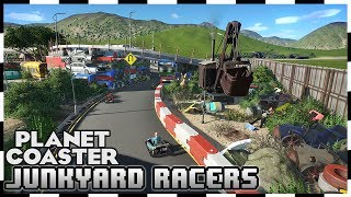 Go-Karts in a junkyard! Watch me race manually, starting from 9th position! Created by stumphre Enjoyed the video? Leave a Tip!: https://www.paypal.com/cgi-b...