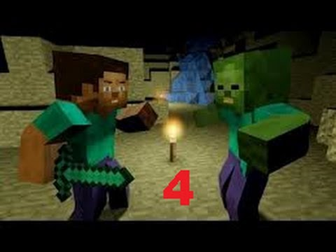 Minecraft il film - L'isola di Herobrine - Episodio 4