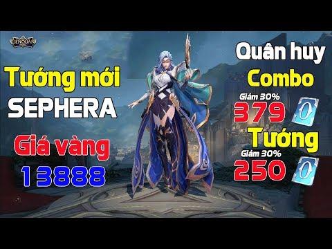 Tướng mới SEPHERA mở bán 13888 vàng Trợ thủ có sát thương lớn nhất liên quân mobile - Thời lượng: 10:39.