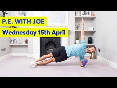 PE With Joe   Wednesday 15th April