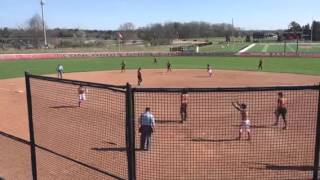 2B Amanda Benezra's hit vs. Lourdes drives in two Cardinal runs thumbnail