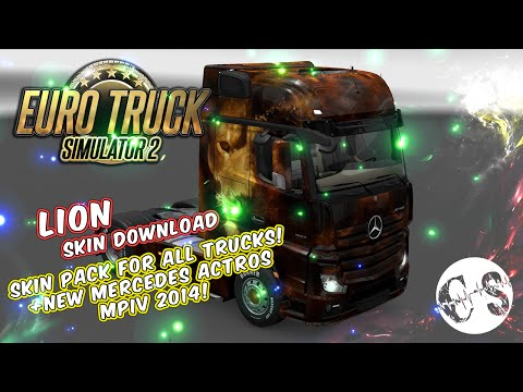 Lion Skin Pack for All Trucks