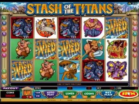 Stash of the Titans 6820 Big Win and Free Spins