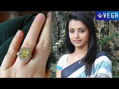 Trisha engaged? Ring Sparks Rumours | Latest Tamil Film News