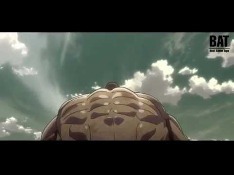Attack on titan: Eren vs The Armored Titan full fight