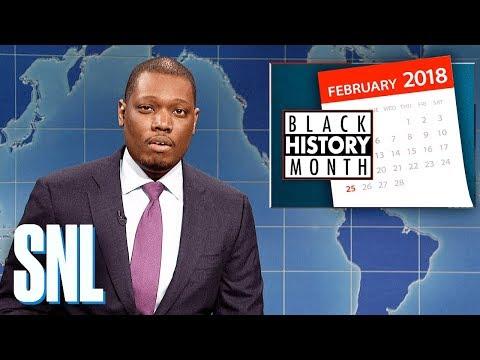 Weekend Update on Black History Month - SNL