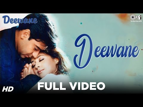 Deewane Full Video - Deewane    Ajay Devgn, Urmila   Kumar Sanu, Udit Narayan, Alka Yagnik