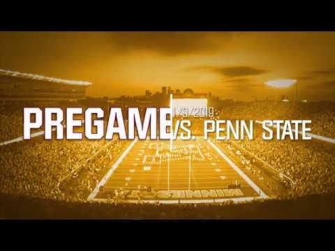 Pregame - Minnesota Marching Band - 11/9/19 vs. Penn State