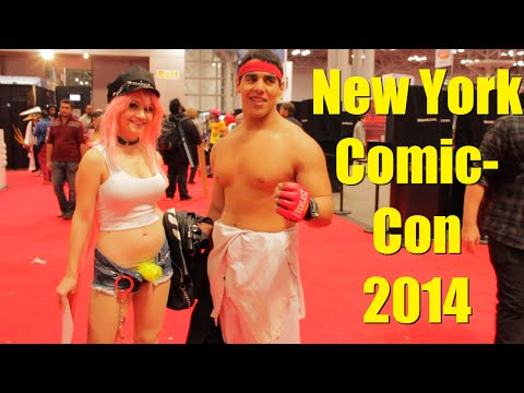 Cosplayers Take Over New York Comic Con