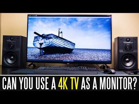 """, title : 'Can You Use A 40"""" 4K 60HZ TV As A Computer Monitor?'"""