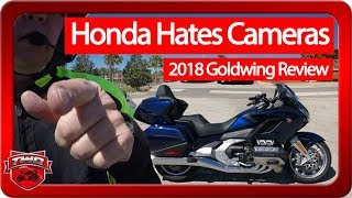 4. Honda Hates Cameras 2018 Goldwing Review