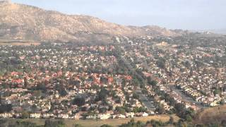 Moreno Valley (CA) United States  city pictures gallery : Moreno Valley California Birds Eye View from M Mountain