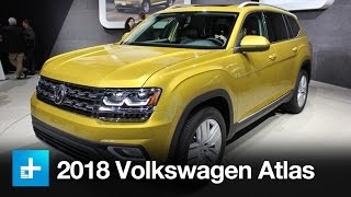 The 2018 Volkswagen Atlas is a seven-seat SUV designed specifically for the U.S. at a time when sales of SUVs are booming. When it goes on sale next year, th...