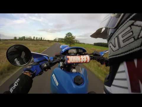 Xt600 & MT07 Wheelie training