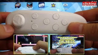 How To Connect Vr Box Remote Controller to Android Tablet  Smartphone in Gamepad Mode to Play Games