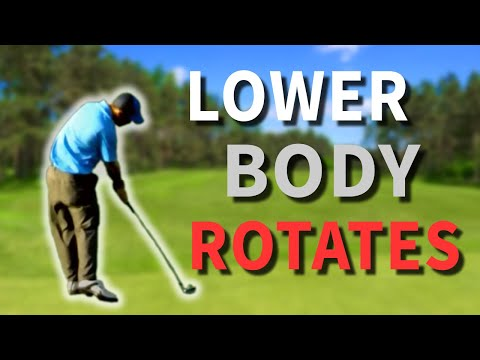 Gravity Golf Lesson – The Legwork – Understanding A Lower Body Golf Swing