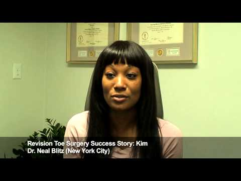 Kimberly: Revision Toe Surgery