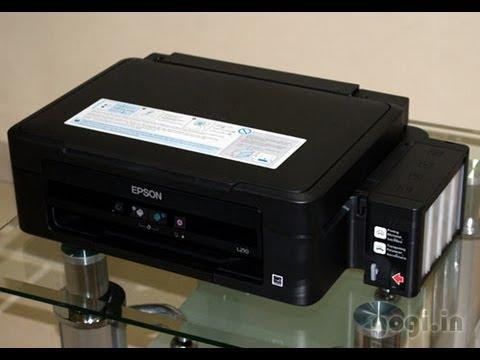 how to troubleshoot epson l210 printer