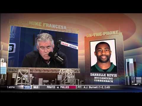 Revis - Mike Francesa interviews Darrelle Revis about the trade.