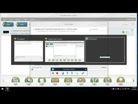 Freemake Video Converter part 3 in Tamil Tech accessibility tutorials