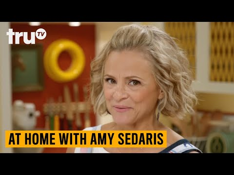 At Home with Amy Sedaris – How to Sharpen a Knife | truTV