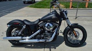 8. SOLD! 2014 Harley-Davidson® FXDB - Dyna® Street Bob® Black Denim