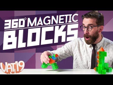 360º Magnetic Building Blocks