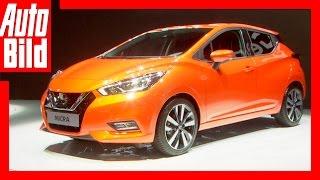 Nissan Micra (2016) - Sitzprobe/Details by Auto Bild