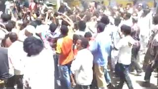 Ethiopian Muslims continue their strong Demonstration at Weldiya City 2