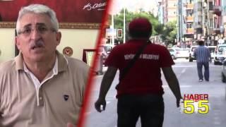 FAHRİ TRAFİK MÜFETTİŞLERİ PARKOMATLAR HAKKINDA YUSUF ZİYA YILMAZ'I TOPA TUTTU...
