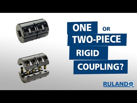 Which is Better: A One-Piece or Two-Piece Rigid Coupling?