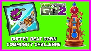 """So I am back and the Community Challenge is also back this time it is Buffet Beat Down, Get Vanquishes with either Chomper Chomp or Bolt Blaster to complete this month's challenge event in Plants Vs Zombies Garden Warfare 2.Subscribe here for more Gaming Videos: http://goo.gl/JnMm2v.Don't forgot to click that notifications bell so you know when my next video is live  I Stream so come join The Barking Mad Society: https://mixer.com/krlbarkerhttps://twitch.tv/krlbarker Fancy spying on what I'm doing lately join my Twitter: https://twitter.com/KrlBarkerWant to stalk me on Xbox One well here's my GT: KrlBarkerJoin my Club on Xbox One and have a Chat: Search KrlBarkerIntro Creator: Dopemotionshttps://www.youtube.com/channel/UCgvrz9ioKv89HMyg42z4pyQEdited By: KrlBarkerFor more templates, visit www.velosofy.com! Song: Jim Yosef - Speed [NCS Release]Music provided by NoCopyrightSounds.Video Link: https://youtu.be/lP6mK2-nLIkDownload Link: http://NCS.lnk.to/SpeedPlants vs. Zombies: Garden Warfare 2 is a third-person shooter, similar to Garden Warfare. Gameplay largely remained the same as its predecessor, with the addition of 8 (6 immediately accessible and 2 which must be unlocked through a series of tough trials) new plant and zombie classes, a zombie version of Garden Ops, titled Graveyard Ops, and a new mode called Herbal Assault, a swapped version of Gardens and Graveyards where the Zombies must defend the bases and preventing the Plants from capturing it, which supports up to 24 players. Different classes have different abilities. Most characters and modes (Team Vanquish, Garden Ops, etc.) from the original Garden Warfare will be returning. A new """"remix"""" music from the original Garden Warfare for the Zombies. New abilities for returning characters will also be introduced in Garden Warfare 2."""