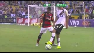 Flamengo 1x2 Vasco - 27/09/2015 - 28ª rodada do Brasileirão Nenê humilhando o urubu! Colocou o Márcio Araújo pra dançar e...