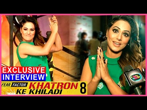 Hina Khan EXCLUSIVE INTERVIEW | Khatron Ke Khiladi