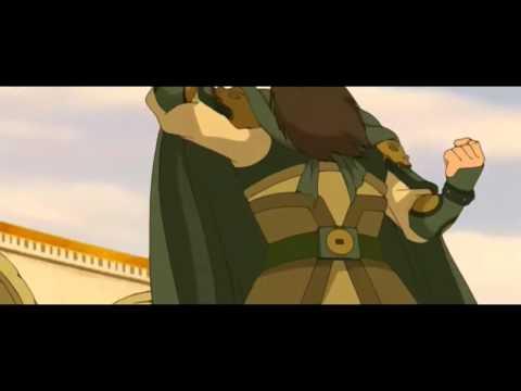 Avatar State in Earth Kingdom Base   Power of Avatars HD