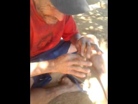 Pedro faz mallvadeza do capeta em monte azul mg