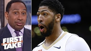 Stephen A. 'scared' Anthony Davis is Lakers' only option | First Take
