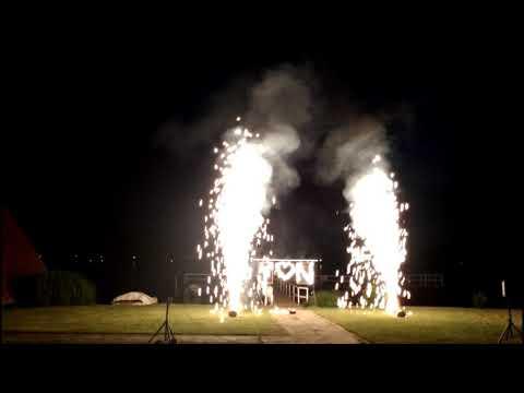 Feuerwerk Hochzeit 16.06.18 Hotel Teikyo