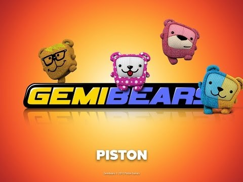 Gemibears - Gemibears by Piston Games Coming to the Apple Store on June 20. Homepage: http://gemibears.com/