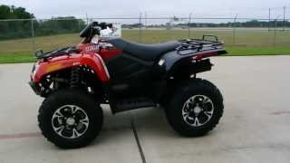7. 2014 Arctic Cat 500 XT Sunset Orange Review and Overview! For Sale $7,399!