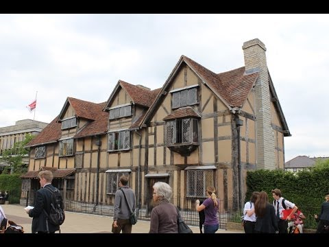 A Visit to Shakespeare's Birthplace in Stratford-upon-Avon