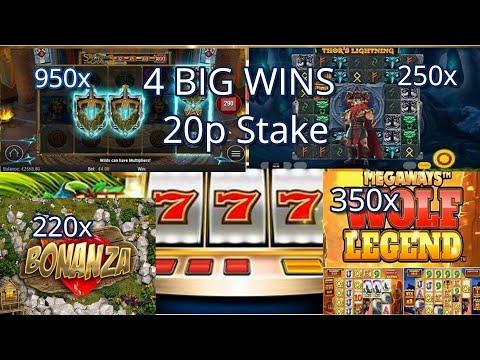 20p Stake Big & HUGE Wins 950x win,
