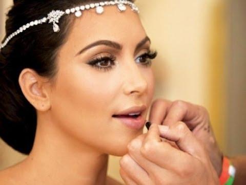 ↓↓↓ Makijaż ślubny Kim Kardashian ↓↓↓
