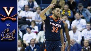 Virginia vs. California Basketball Highlights (2016-17)