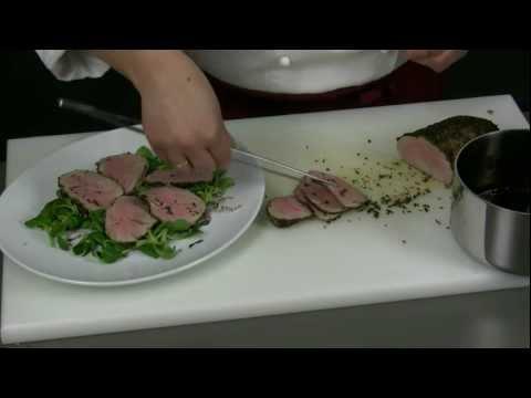 Filetto di maiale alle erbe con aceto balsamico