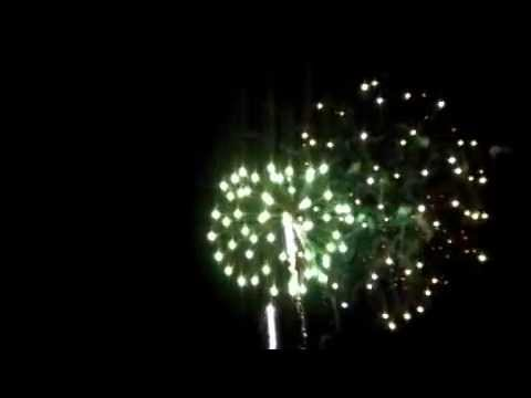 Feb Fest Fireworks at Bromley, Vermont!